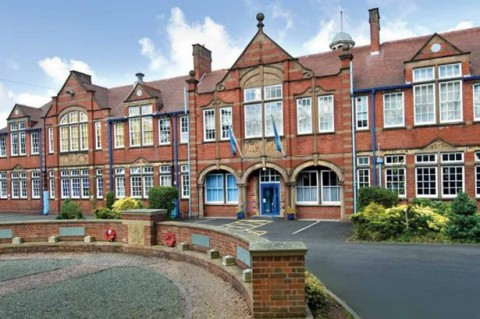 Entrée de la secondary school Kings Norton Boys' School