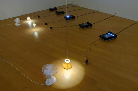 Yuko Mohri : ventilateurs